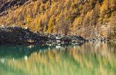 Mountain lake in Aosta Valley 5 — Stock Photo