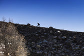 Walking in Aosta Valley horizontal — Stock Photo
