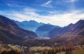 Autumn landscape in Aosta Valley 9 — Stock Photo