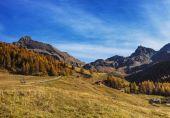 Autumn landscape in Aosta Valley 11 — Stock Photo