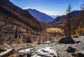 Autumn landscape in Aosta Valley 18 — Stock Photo
