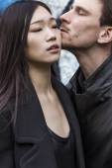 Belle coppie in città — Foto Stock