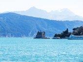 Beautiful seascape in Liguria, Italy — Stock Photo