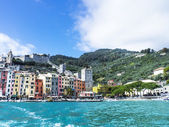 Cinque Terre colorful glimpse in Liguria, Italy — Stock Photo