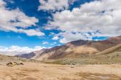 ヒマラヤ風景マウンテン ビューの背景 — ストック写真