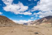 Himalaya Landschaft Bergblick-Hintergrund — Stockfoto