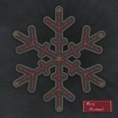 Drelich śnieżynka — Zdjęcie stockowe