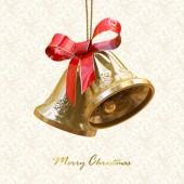 クリスマスの鐘 — ストック写真