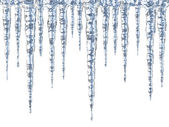 Cool icicles — Stock Photo
