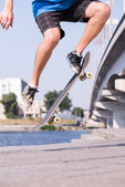 Skateboarding is not for everyone — Stock Photo