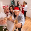 New Years party — Stock Photo #56851761
