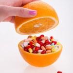 Health and pills — Stock Photo #58389093