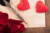 St. Valentines Day love message — Stock Photo