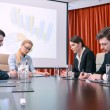 Discussion of the presentation — Stock Photo #68170943