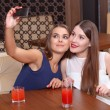 Women have fun at the party — Stock Photo #68776759