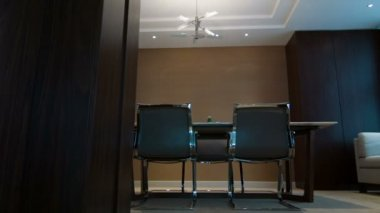 Interior of meeting room in hotel — Video Stock