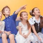������, ������: Children spend time in kids room