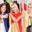 Female shoppers in a store — Stock Photo #70025115