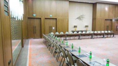 Sala de Conferência Municipal ou reunião — Vídeo stock