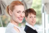 Businesswomen during a meeting — Stock Photo