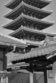 Templo de Sensoji en Asakusa, Tokio, Japón — Foto de Stock