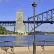Sydney Harbour Bridge from Circular Quay, Sydney, Australia — Stock Photo #62832119