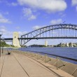 Sydney Harbour Bridge from Circular Quay, Sydney, Australia — Stock Photo #62832131