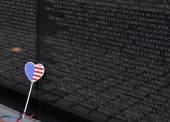 Vietnam Veterans Memorial, Washington DC, USA — Stock Photo
