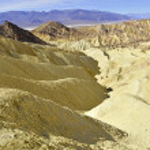 Desert landscape, Death Valley National Park, California — Stock Photo #65481213