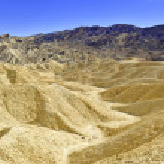 Desert landscape, Death Valley National Park, California — Stock Photo #65481223