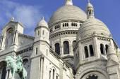 Sacre Coeur Cathedral, Paris, France — Stock Photo