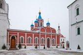 Russia. Kolomna. The Kolomna Kremlin. The Tikhvin Church — Stock Photo