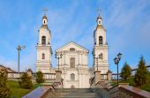 The Cathedral of the Assumption. Vitebsk. The Republic Of Belarus — Stock Photo