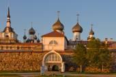 Russia. The Arkhangelsk region. Solovetsky monastery — Stock Photo