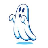 Spooky ghost — Stock Vector