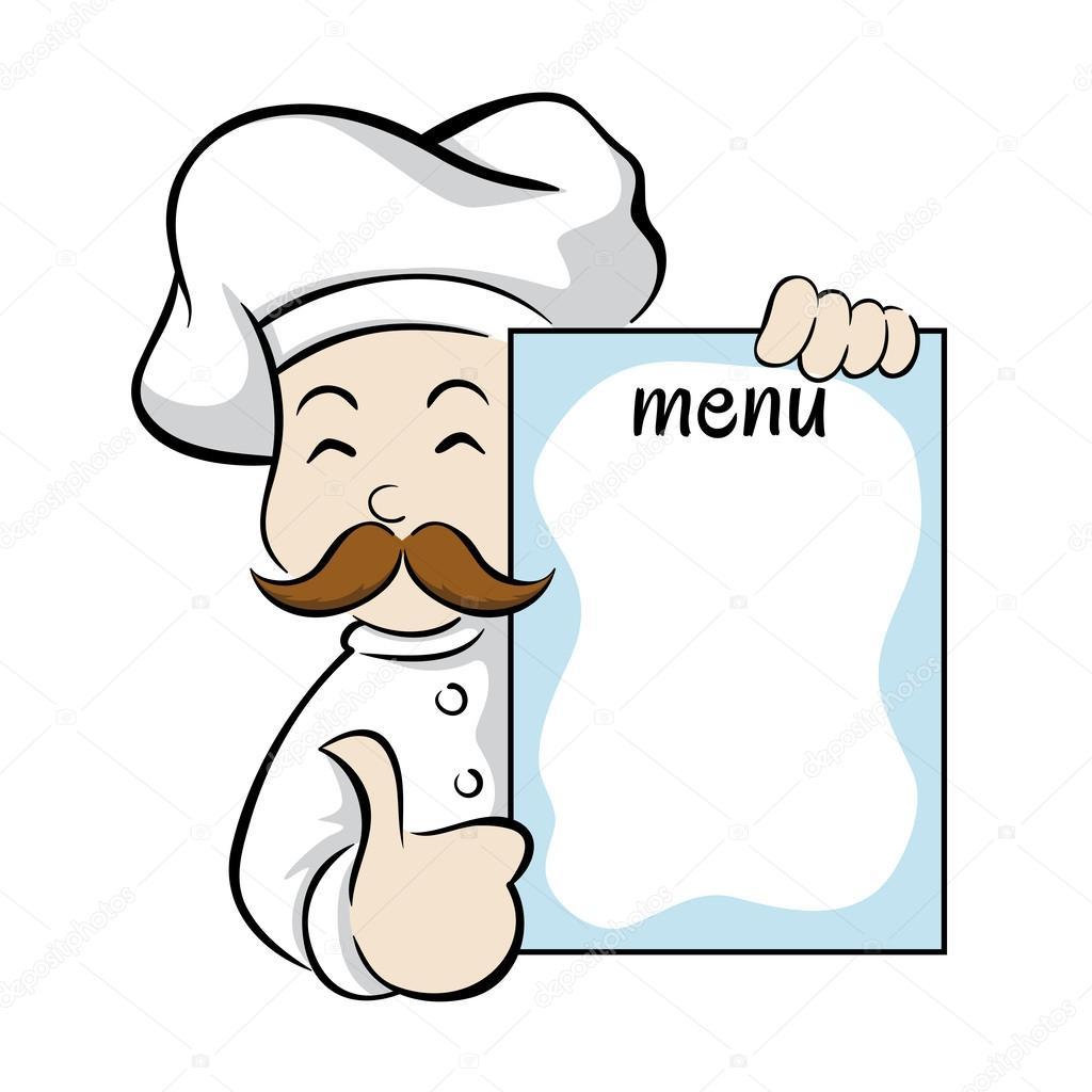 Раскраска для меню 5