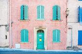 Old house facade,  Provence, France — Stock Photo