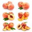 6 peach images — Stock Photo #53094511