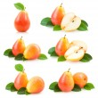 6 pear images — Stock Photo #53094579