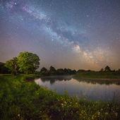 Starry night — Stock Photo