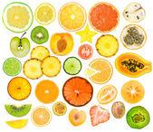 Conjunto de frutas — Foto de Stock