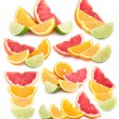 Colorful citruses — Stock Photo #56160475