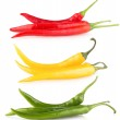 Colorful chili peppers — Stock Photo #56833371