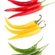 Colorful chili peppers — Stock Photo #58252219