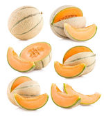 Cantaloupe melons images — Stock Photo