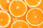 Background of orange slices — Stock Photo