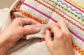 Sewing  hobby — Stock Photo