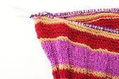 Needle knitting — Foto Stock
