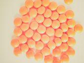 Retro look Medical pill — Stock Photo