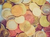Retro look Euro coin — Stock Photo
